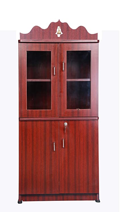 Buy Hudson S Pooja Cabinet Pooja Mandir Home Mandir With Glass Door