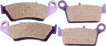 NEW Front and Rear Brake pads for SUZUKI YAMAHA KAWASAKI Carbon fiber