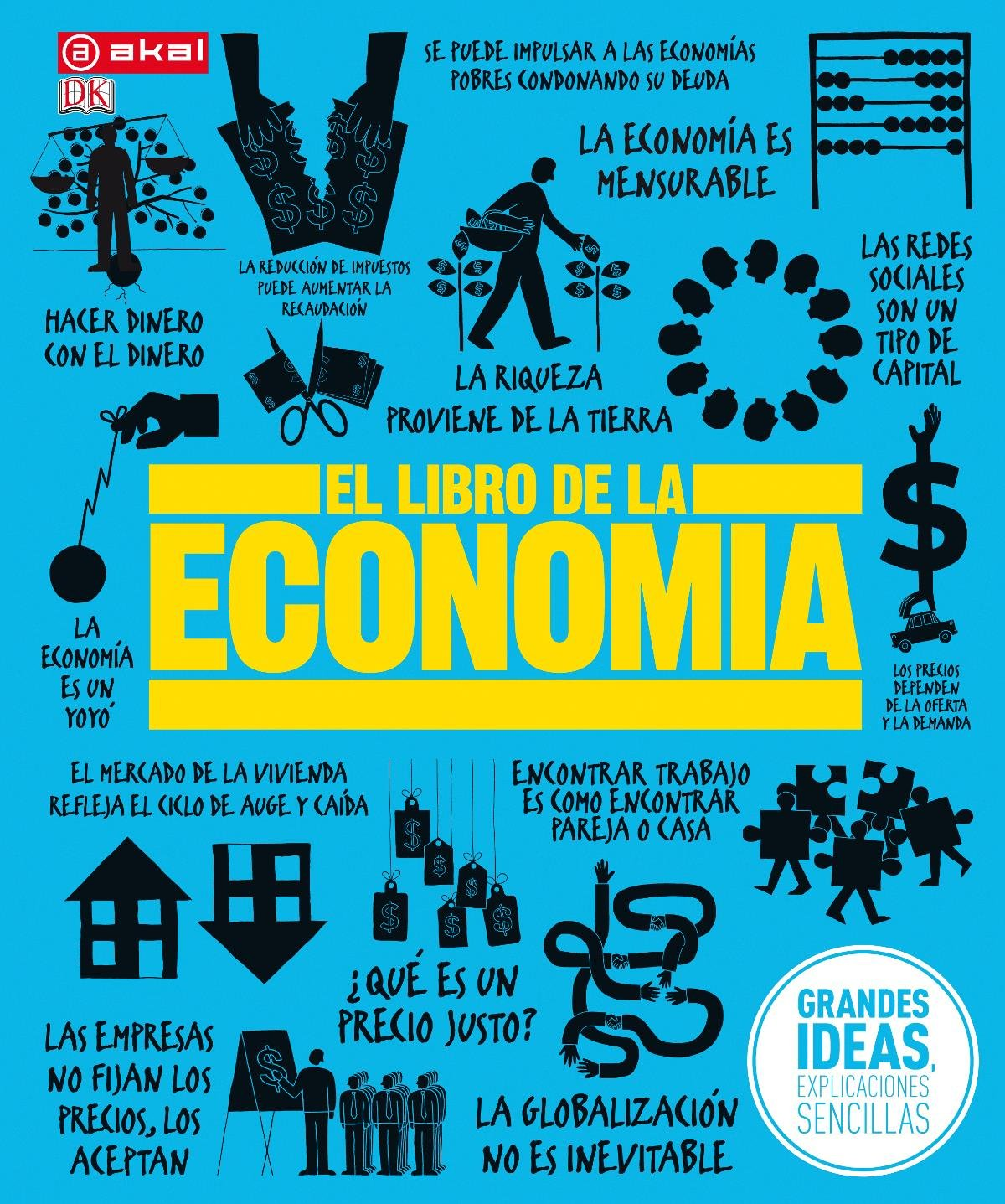 El libro de la economía (Grandes temas): Amazon.es: Varios autores ...