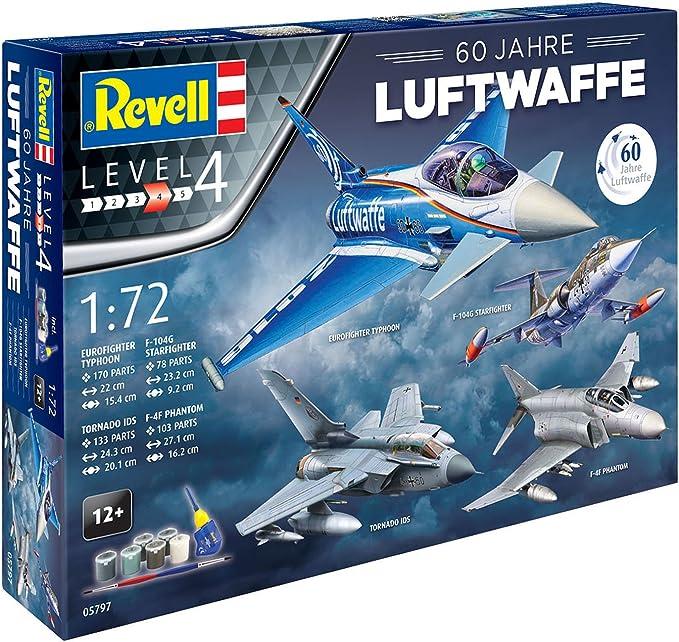 Revell revell05797 60 años Luftwaffe Gift-Set: Amazon.es: Juguetes y juegos