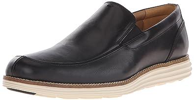 Cole Haan Men's Original Grand Venetian Slip-On Loafer, Black Leather, ...