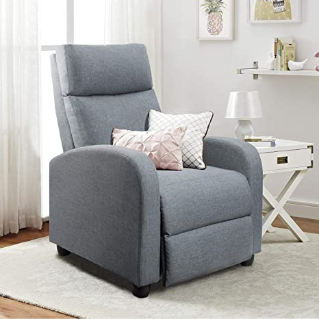 Homall Fabric Recliner Chair Living Room Sofa