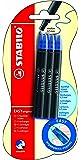 Stabilo Easy Original Blister de 6 Recharges en encre bleue effaçable 0,5 mm