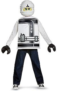Ninjago Halloween Costume.Licensed Lego The Ninjago Movie Classic Zane Child Halloween Costume
