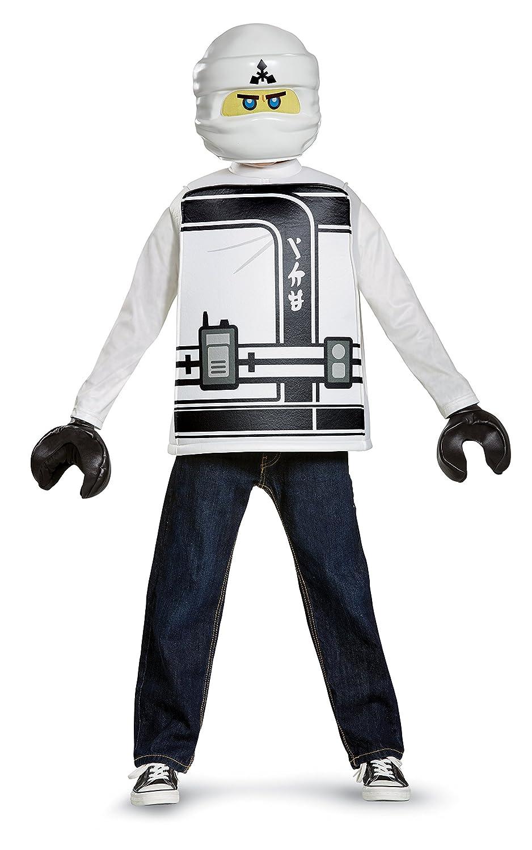 新しい Disguise Zane Lego Ninjagoムービークラシックコスチューム Large Large (10-12) 23509G Large Large (10-12) (10-12) ホワイト B01N6WWDFX, インテリアショップドリームランド:59687ca6 --- diceanalytics.pk