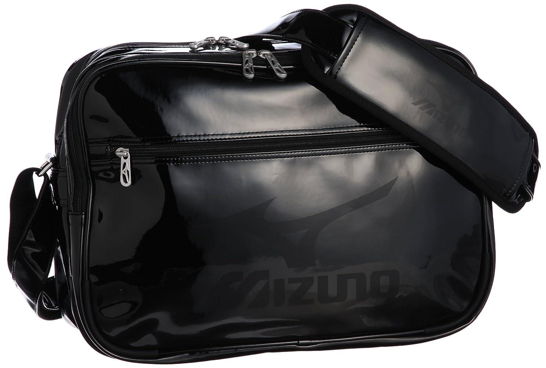 [ミズノ] エナメルバッグ (M) (旧モデル) B00BGMGX66 ブラック/ブラック/ブラック ブラック/ブラック/ブラック
