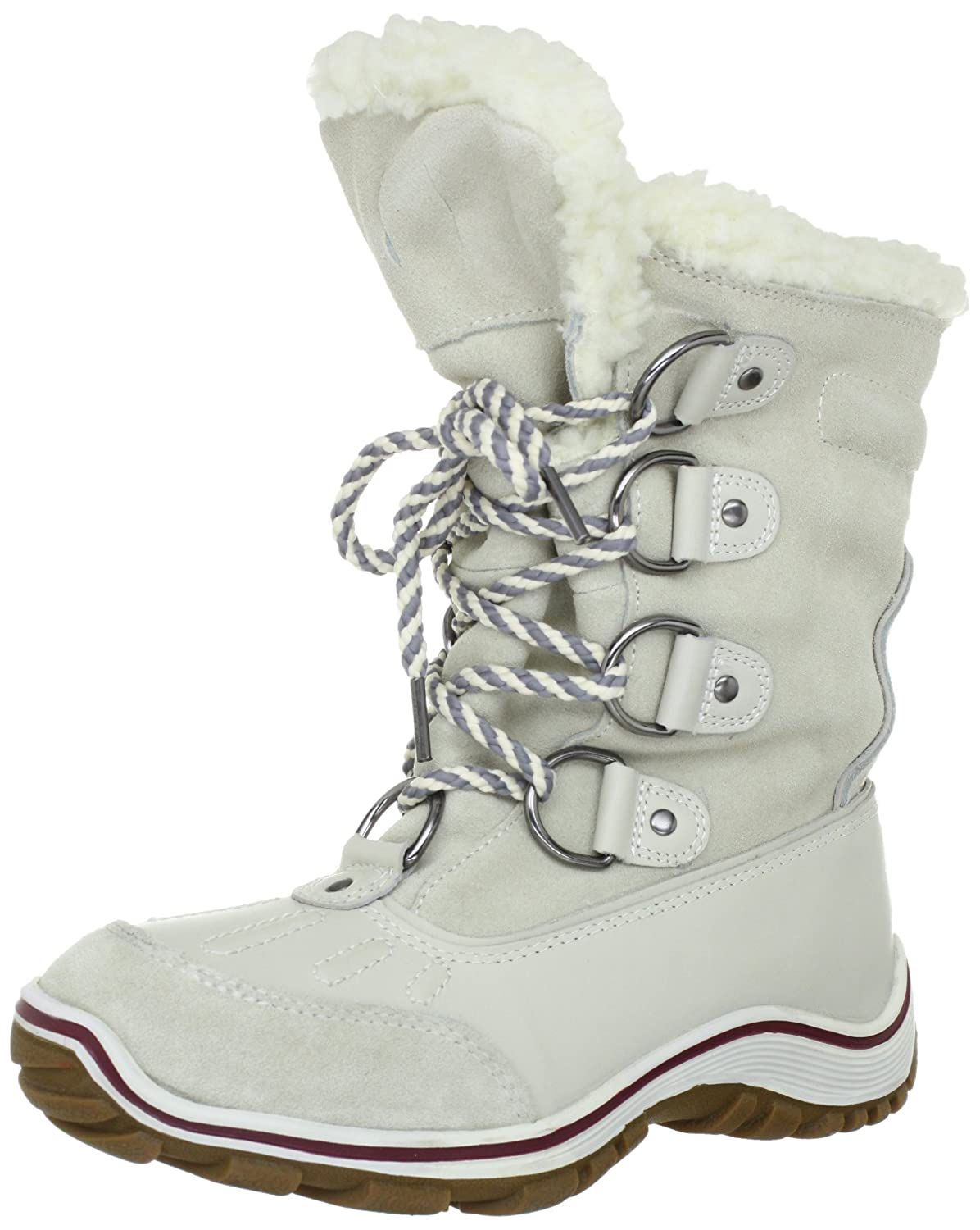 Pajar Women's Alina Boot B007SRUG16 36 EU/5-5.5 M US|Ice/White
