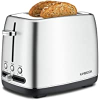Kambrook Toaster, 2-Slice, Brushed Stainless Steel KTA270BSS