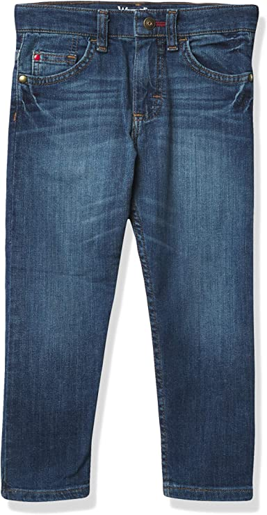 Amazon.com: Wrangler Boys' Regular Tapered Jean: Clothing