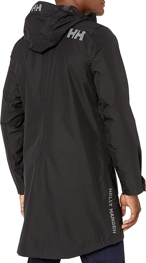 helly hansen mens long jacket