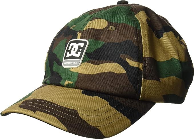 DC Hombre ADYHA03643 Gorra de béisbol - Verde - Talla única ...