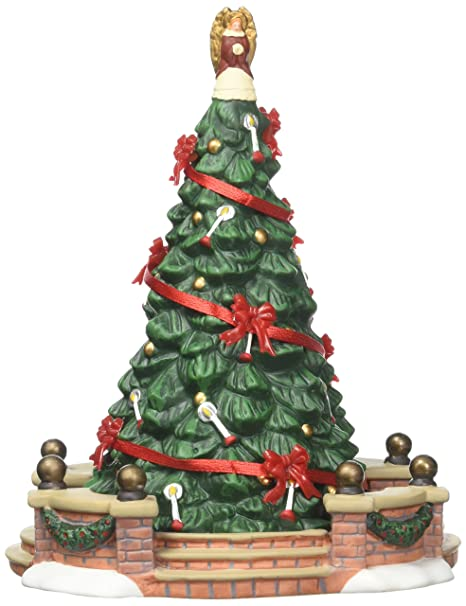Department 56 Christmas Tree.Department 56 Dickens Village Town Tree Accessory Figurine 6 5