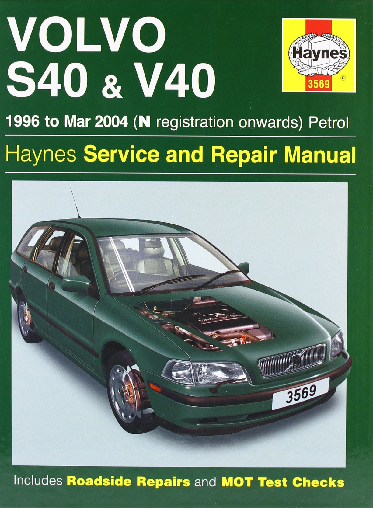 Volvo S40 And V40 Petrol Mark Coombs 9781844250769 Books Wiring Diagrams