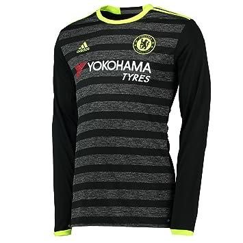 Adidas JSY L Camiseta 2ª equipación Chelsea FC 2015/16, Hombre: Amazon.es: Deportes y aire libre