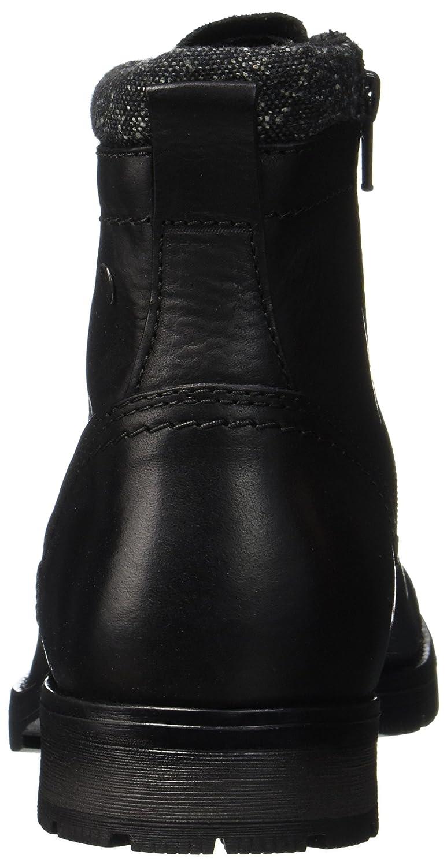 b7cbaf9694db Jack   Jones Men s Jfwmarly Leather Black Classic Boots  Amazon.co.uk  Shoes    Bags