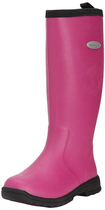 ca9d6a2e9fd2 Muck Boot Women s Pink Black Breezy Tall 6 B(M) US