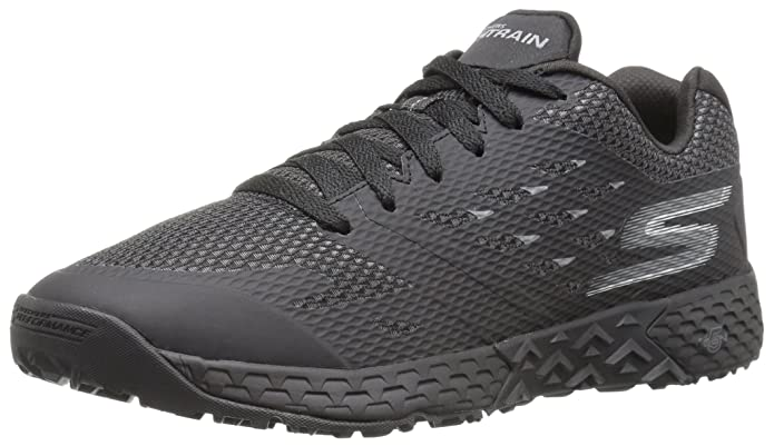 Skechers Performance Go Train-Endurance, Zapatillas de Deporte Exterior para Hombre, Negro (Black), 43 EU