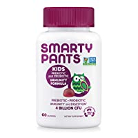 SmartyPants Kids Probiotic Immunity Formula Daily Gummy Vitamins: Probiotics & Prebiotics...