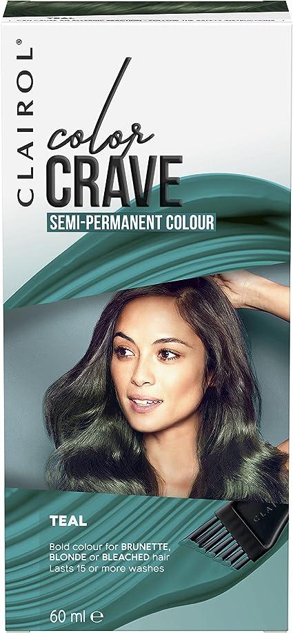 Tinte de pelo semipermanente Colour Crave de Clairol, 60 ml