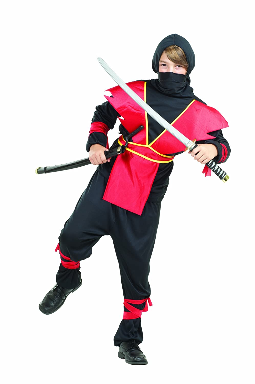 RG Costumes 90139 Ninja Master - Costume - Size Child