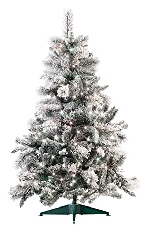 Künstlicher Tannenbaum 180.Infactory Künstlicher Tannenbaum Künstlicher Weihnachtsbaum Im Schneedesign 180 Cm Mit 300 Leds Led Tannenbaum