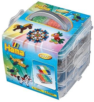 12000 Perlen Und Zubehör Hama 6751 Große Aufbewahrungsbox Bunt Large