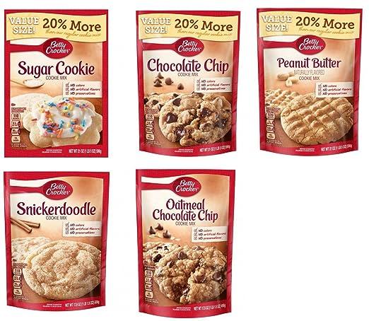 Surtido de galletas Betty Crocker para hornear vacaciones ...