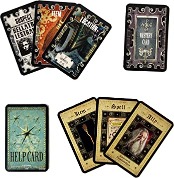 Harry Potter - Cluedo, juego de mesa de misterio (Idioma Inglés) , Modelos/colores Surtidos, 1 Unidad: Amazon.es: Juguetes y juegos