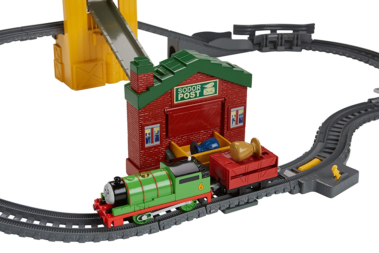 Fisher price thomas amp friends trackmaster treasure chase set new - Fisher Price Thomas The Train Track Master Sort And Switch Delivery Set Fisher Price Amazon Ca Toys Games