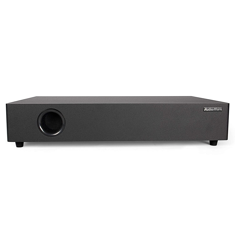 Chromecast Schwarz AudioAffairs CCX 010 CCX 010 AudioAffairs Soundbar mit Subwoofer Bluetooth Aux In HMDI ARC
