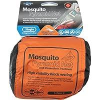 Sea To Summit Mosquito Pyramid Net Permethrin Treated, Unisex-Adult, Black, Single