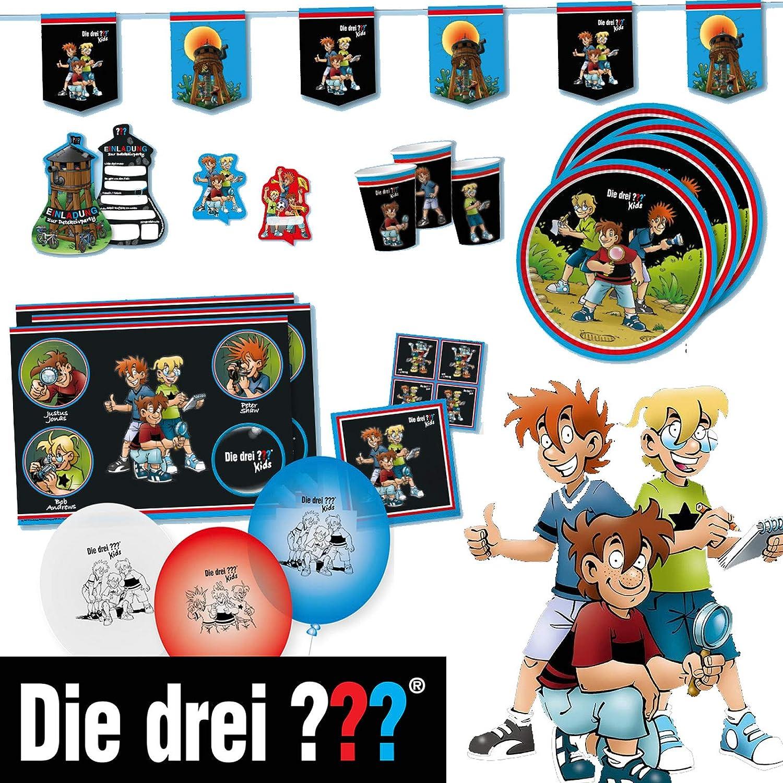Kids //// Detektiv Becher DREI Fragezeichen DH-Konzept Becher DREI ??