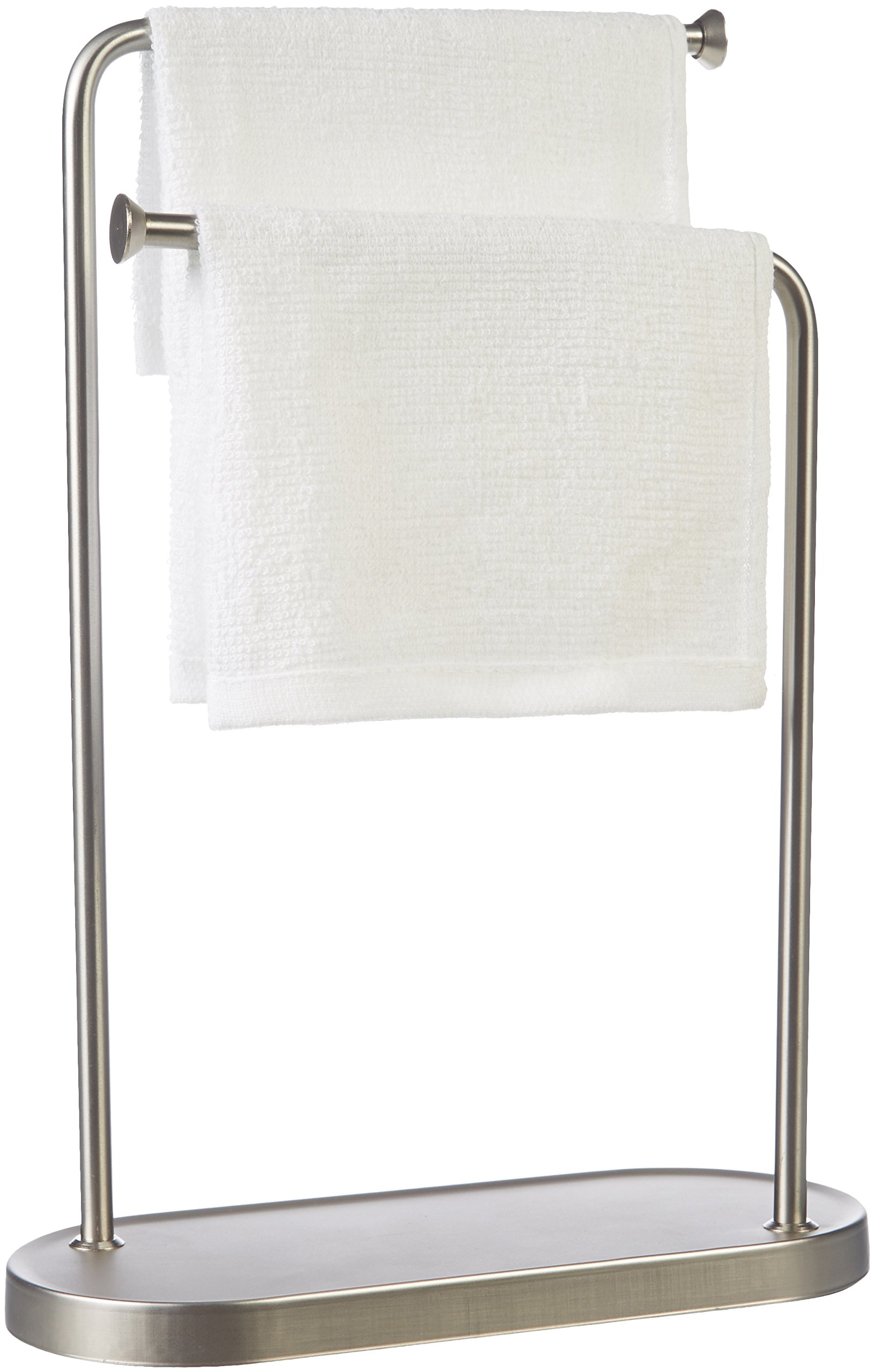 Double-L Hand Towel Stand - towel