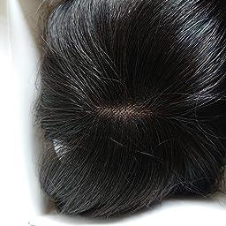 Amazon Co Jp Feiyi Wigs前髪ウィッグ 人毛 手植え 3d構造つむじ付きシースルーバング つけ毛 エクステ ワンタッチ自然 増毛 サイド付 ダークブラウン 服 ファッション小物