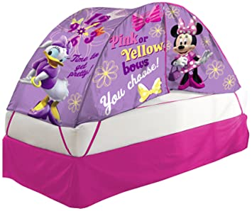Disney Minnie Mouse Bed Tent with Pushlight Assortment  sc 1 st  Amazon.com & Amazon.com: Disney Minnie Mouse Bed Tent with Pushlight Assortment ...