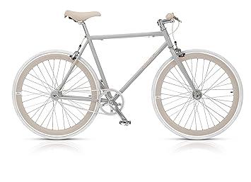 Mbm Nuda Bici Bicicletta Uomo 28 H53 Grigio Crema Amazonit