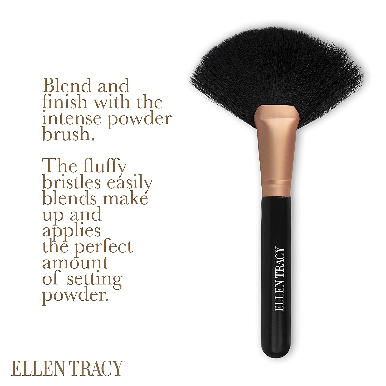 Amazon.com Ellen Tracy Large Powder Brush and Makeup Brush