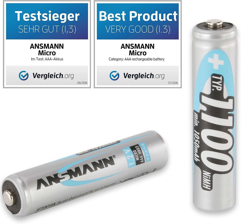 Ansmann Batterieladegerät Powerline 8 Für Akku Elektronik