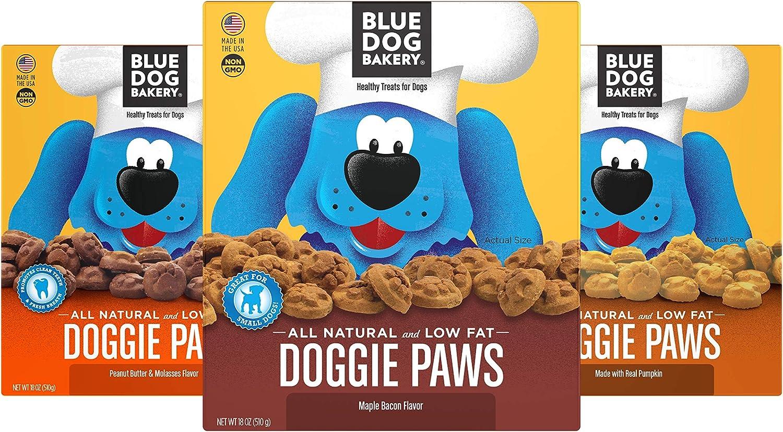 Blue Dog Bakery Natural Dog Treats Pumpkin Paws