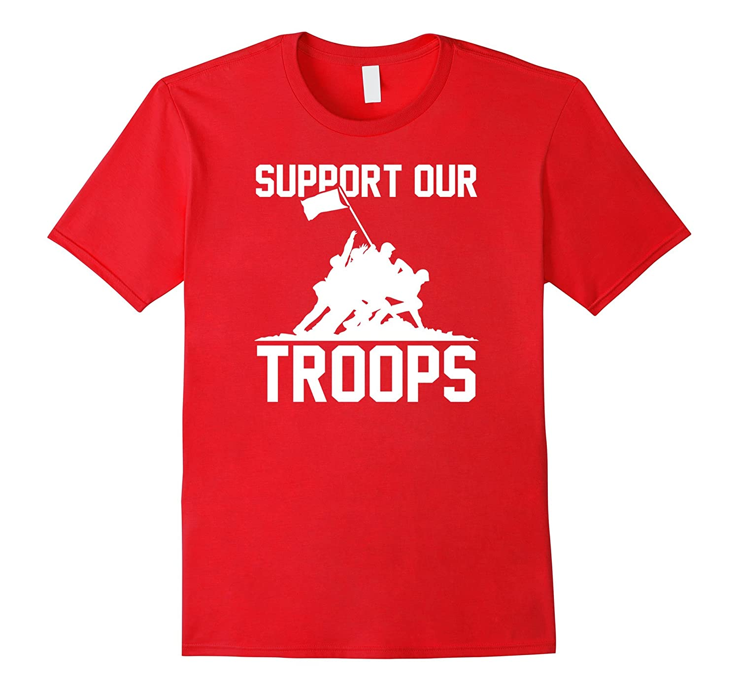 Support Our Troops Shirt Red Shirt Friday T-Shirt-BN