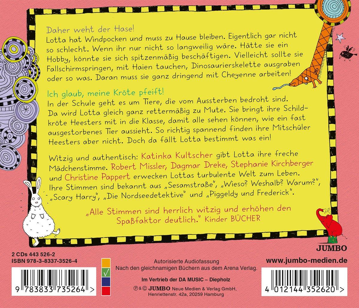 Mein Lotta-Leben.Folge 4+5 - Katinka Kultscher: Amazon.de: Musik
