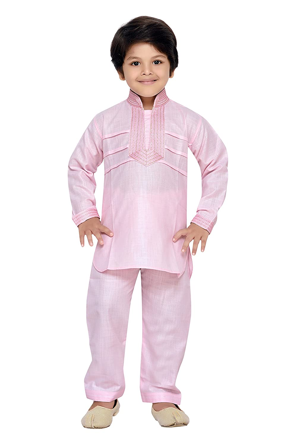 AJ Dezines Kids Indian wear Bollywood Style Pathani Suit for Boys 7007-$P
