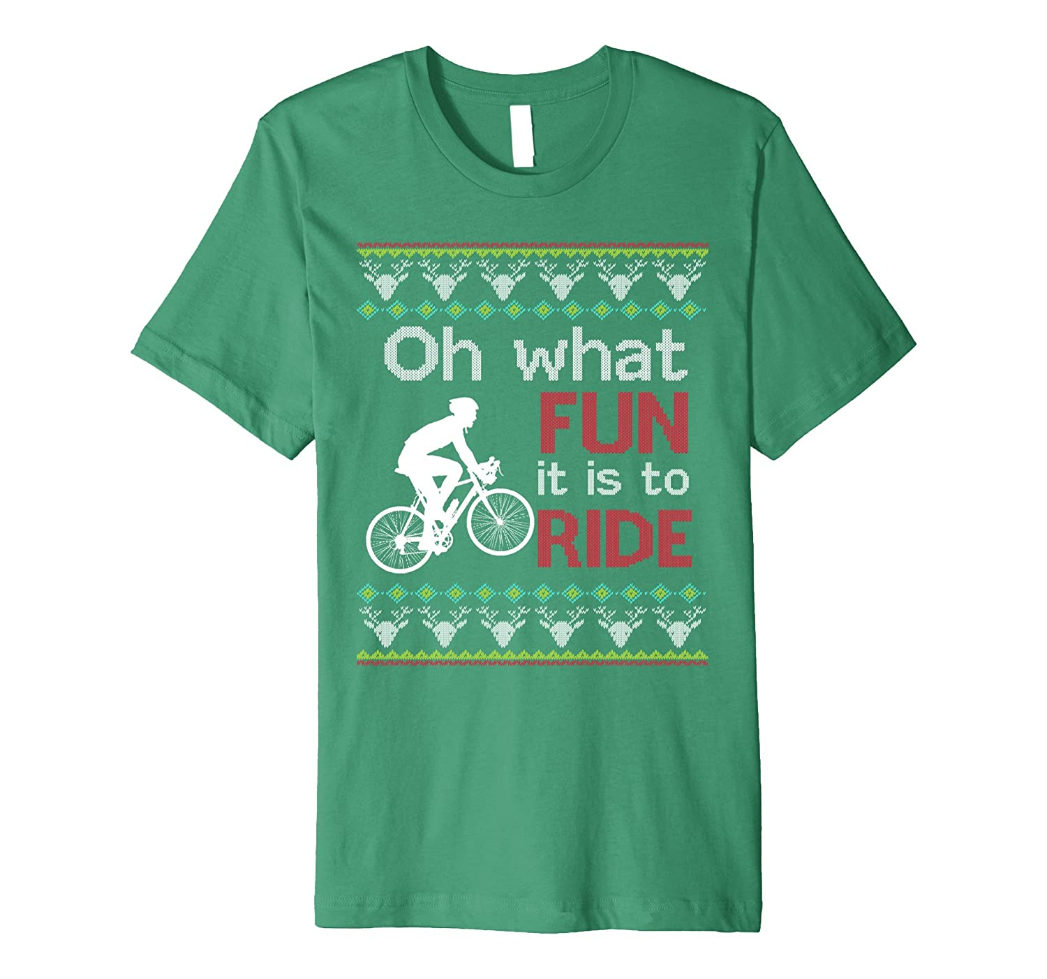 Christmas Fun Bike Ride T-Shirt Design-ANZ - Anztshirt