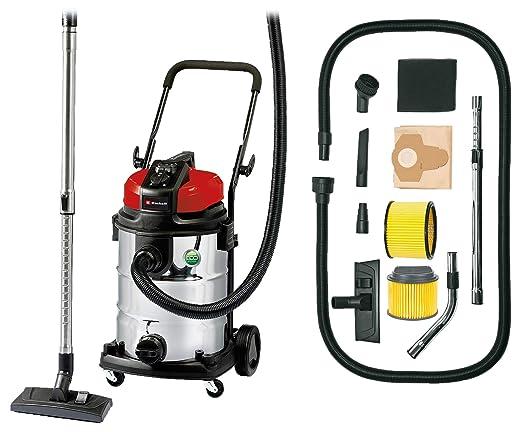 Einhell Expert 2342363 Aspirador seco/ liquido TE-VC 2230 SA de tipo industrial + Einhell - Filtro de larga duración duo para aspirador Einhell, color ...