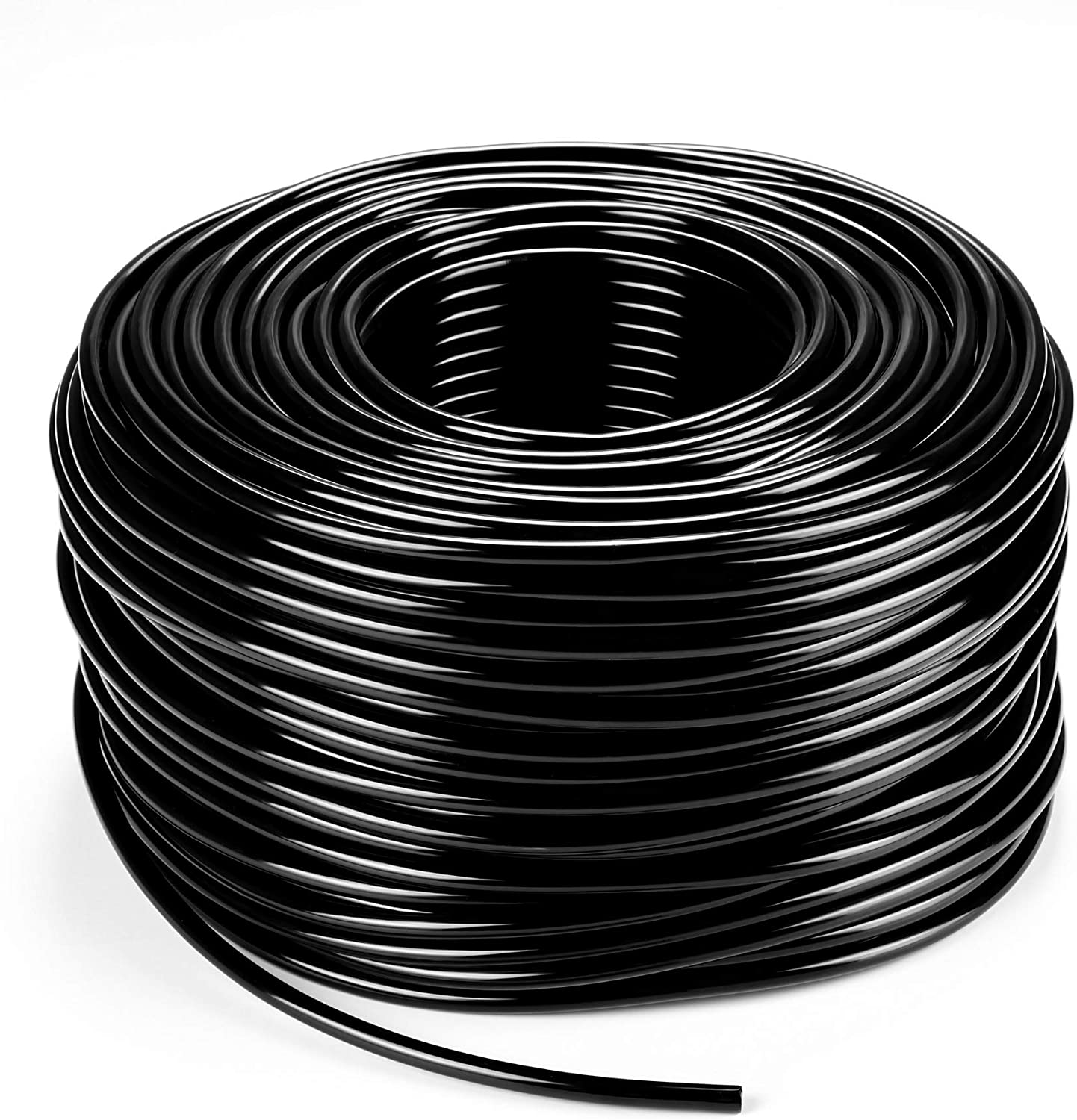 200ft 1/4 inch Blank Distribution Tubing Drip Irrigation Hose Garden Watering Tube Line for Small garden irrigation system