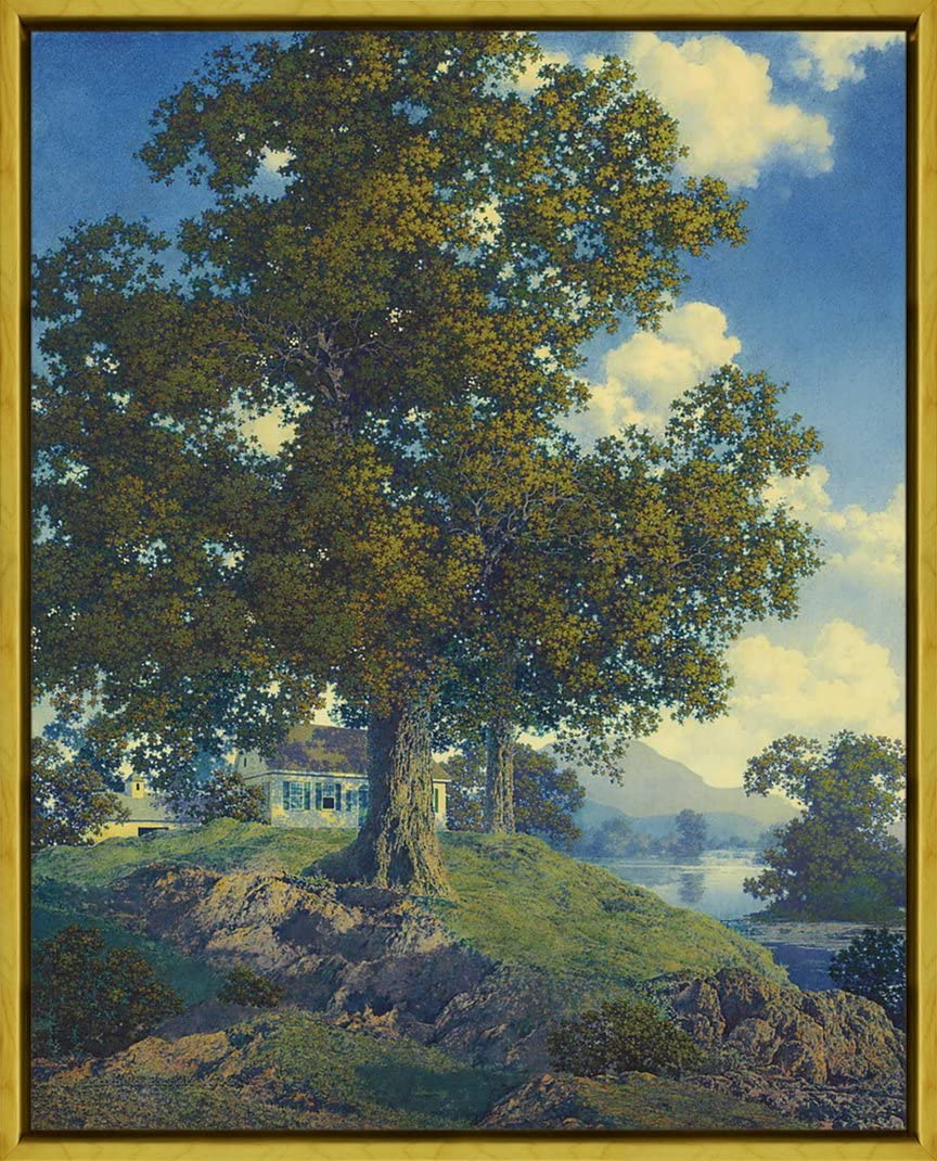 Maxfield Parrish Untitled Giclee Canvas Print Paintings Poster Reproduction