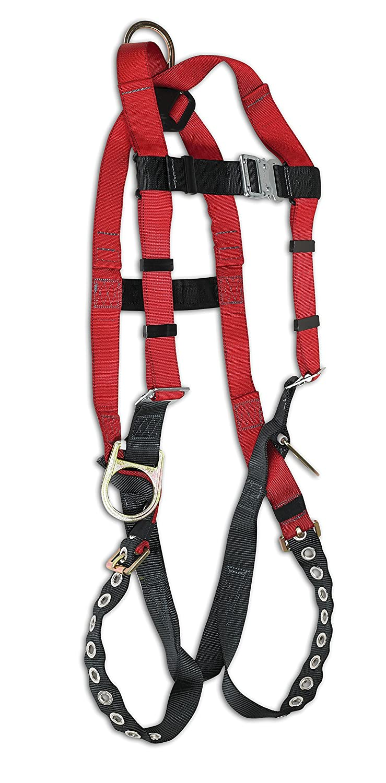 Large Dynamic Safety USA Dynamic Safety FP2003BDG Industrial Dyna-I Lightweight Vest Style Harness