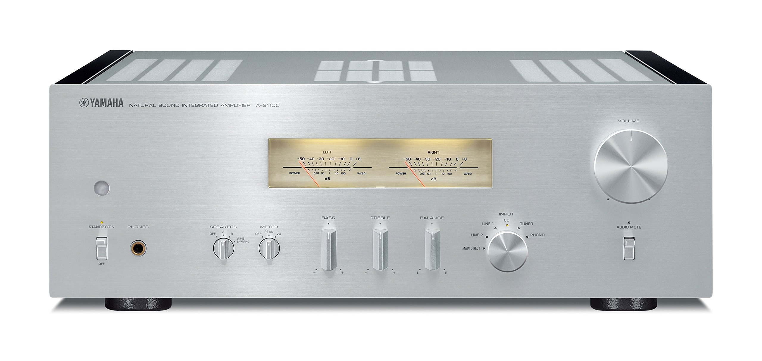 Yamaha A-S1100SL 2 Channel Integrated Amplifier (Silver) by Yamaha