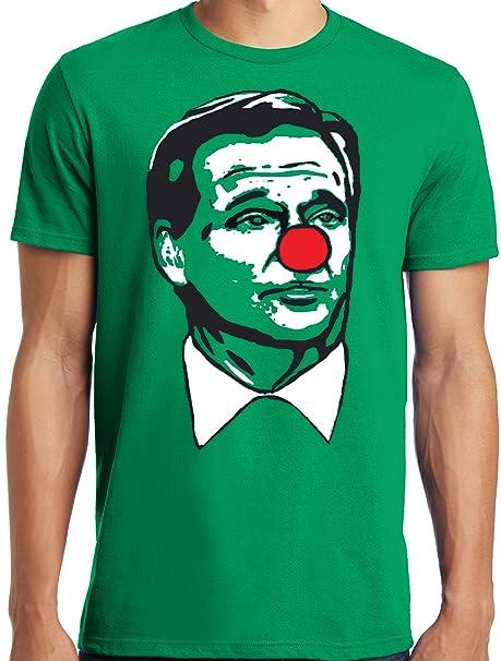 c2d81133e LiberTEES Big and Tall Roger Goodell Clown Shirt Matt Patricia Patriots T- Shirt (M