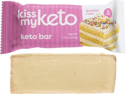 Fabulous Kiss My Keto Bars Low Carb Bars 3G Net White Chocolate Funny Birthday Cards Online Chimdamsfinfo